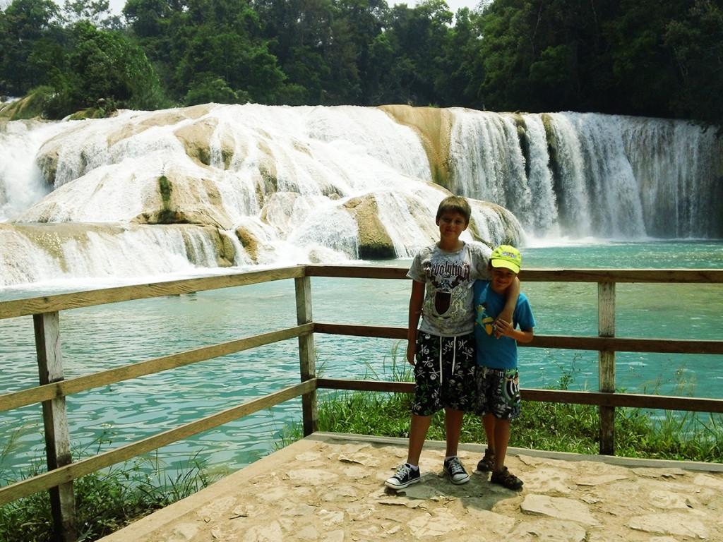 Cascadas de Agua Azul - Palenque