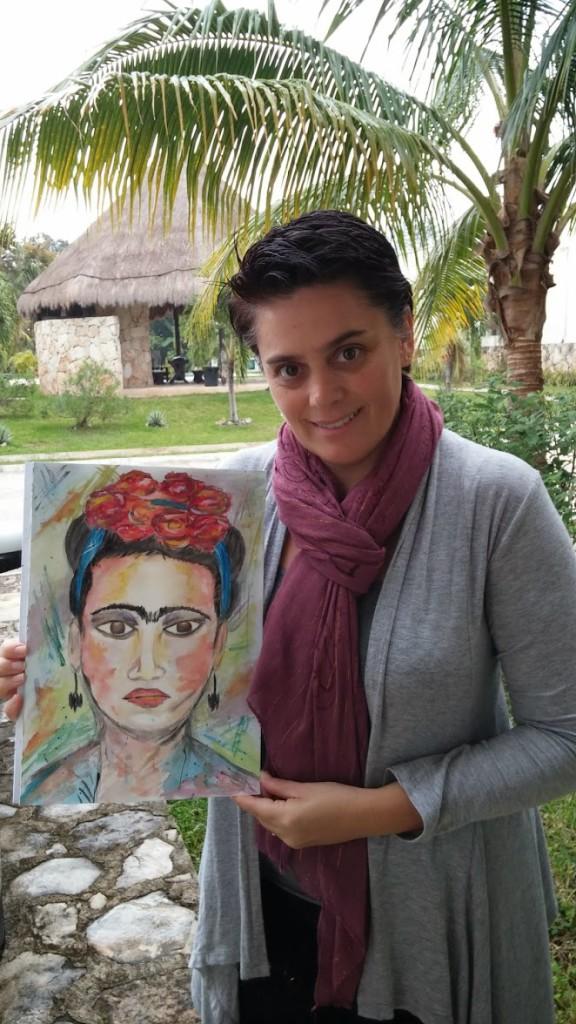 Lore- Frida acuarelas