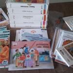 Algunos de los libros del programa